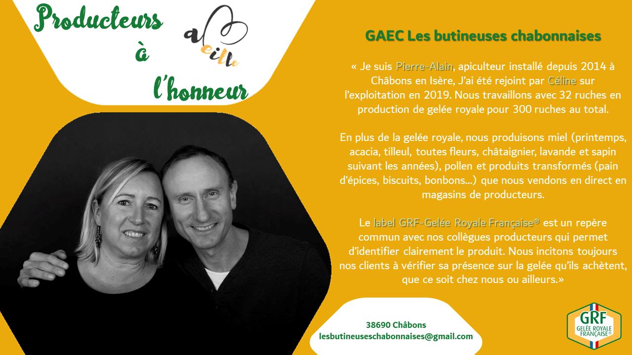 GAEC Les butineuses chabonnaises : producteurs à l'honneur – Juillet 2020