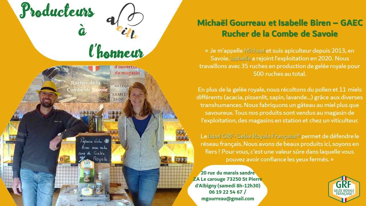 GAEC Ruchers de la Combe de Savoie : producteurs à l'honneur – Décembre 2020